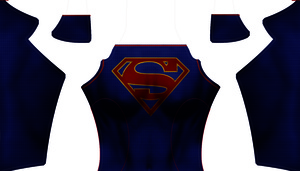 Supergirl (CBS Version) Dye-Sub Digital Pattern