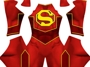 The NEW Super-Man Dye-Sub Pattern ....aka Chinese Superman