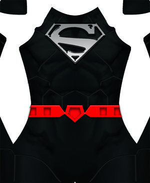 New 52 Superman (BLACK) Dye-Sub Pattern