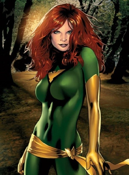 Jean Grey / Phoenix (green version) Dye-Sub Digital Pattern