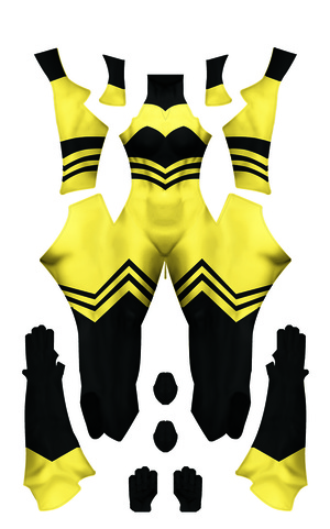Queen Bee  (Miraculous Ladybug season 2) Dye-Sub Digital Pattern