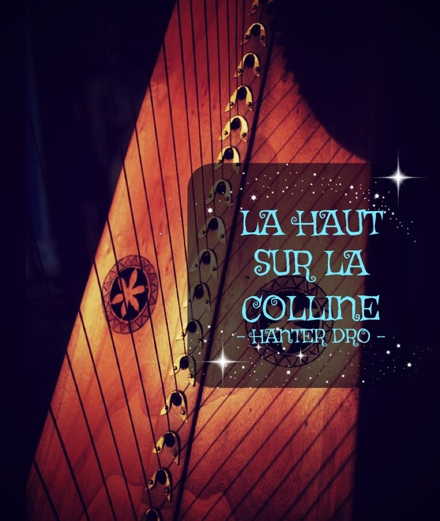 60-LA HAUT SUR LA COLLINE FOR LEVER HARP 34S - WITH FINGERS -