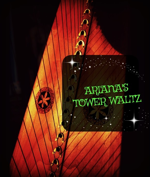 227- ARIANNA ' S TOWER PACK- HARP COVER -