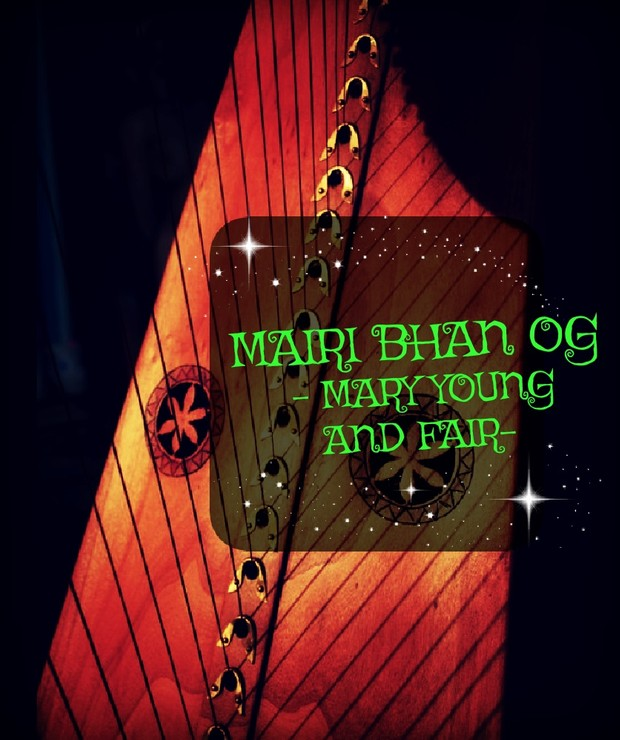 87-MARY YOUNG AND FAIR FOR LEVER HARP  PACK