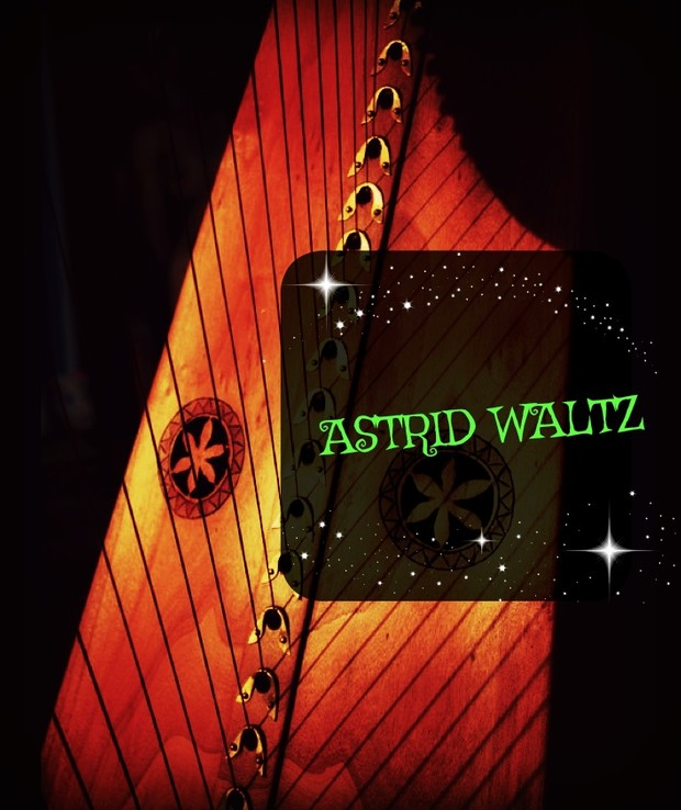 110-ASTRID WALTZ FOR LEVER HARP -S34 PACK