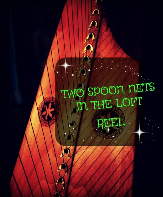 49-TWO SPOON NETS IN THE LOFT PACK - HARPSICLE FRIENDLY -