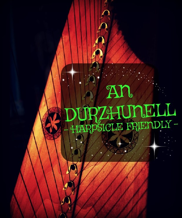 76- AN DURZHUNELL FOR LEVER HARP PACK - HARPSICLE FRIENDLY