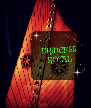 96-THE PRINCESS ROYAL PACK - FOR 34 strings harp -