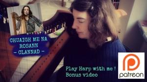 CLANNAD SONG - CHUAIGH ME NA ROSANN - 2 VIDEOS