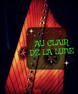 125-AU CLAIR DE LA LUNE FOR LEVER HARP -34S PACK