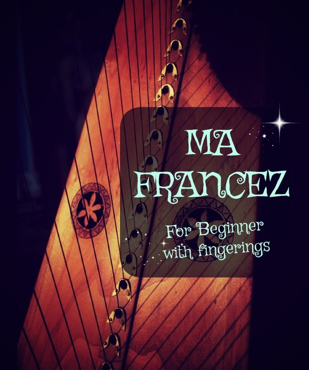 81-MA FRANCEZ FOR LEVER HARP PACK WITH FINGERINGS
