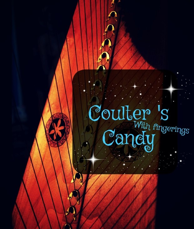 78-COULTER CANDY FOR LEVER HARP -PACK - HARPSICLE FRIENDLY -WITH FINGERINGS