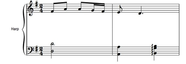 89-A SCOT TUNE FOR LEVER HARP PACK