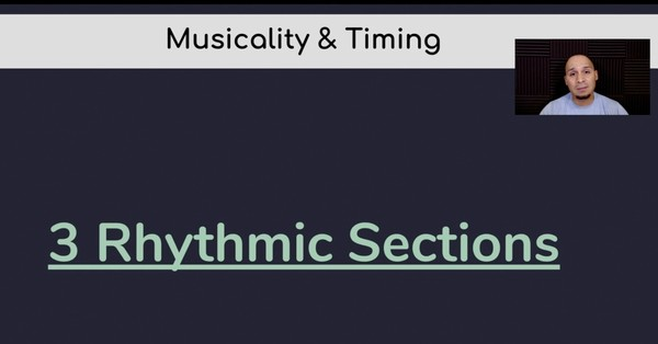 4) 3 Rhythm Sections