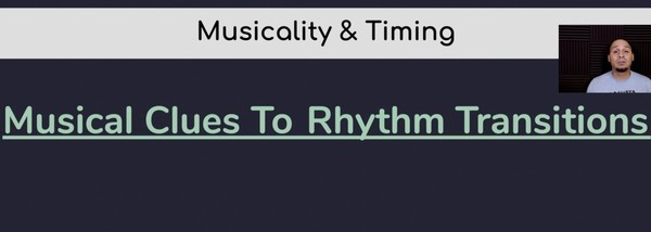 6) Rhythm Section Transitions