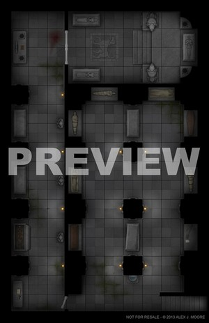 Crypt - Game Map