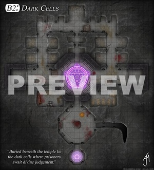Dark Cells - Game Map