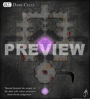 Dark Cells - Game Map