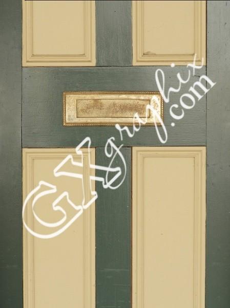 Green Front Door