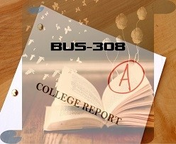 BUS-308 Week 5 Final Paper Statistics for Managers, Final Paper (Complete)