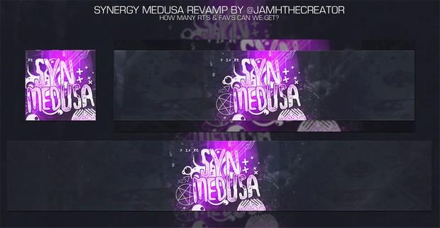 Synergy Medusa Editable .PSD!