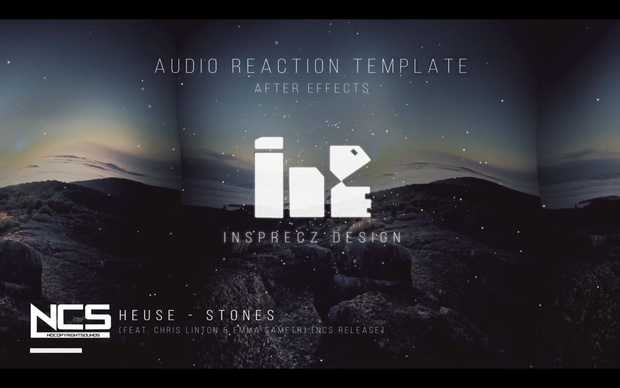 Premium Audio React Template For After Effects