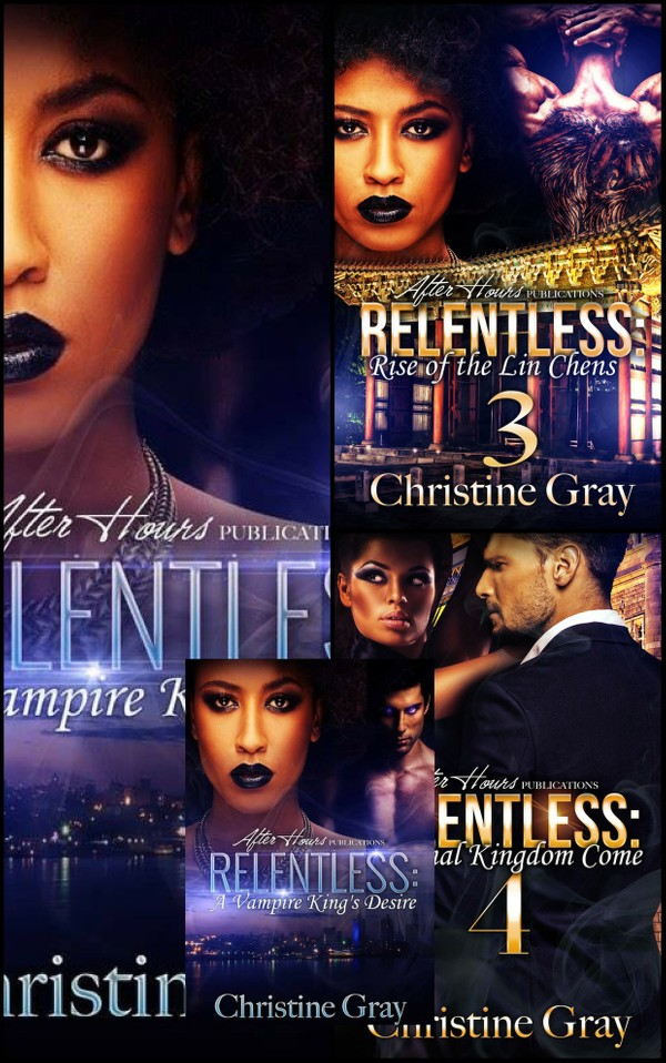 Relentless, A Vampire King's Desire Box Set (1-4)- Epub