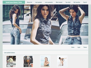 Coppermine gallery theme - Premade 003