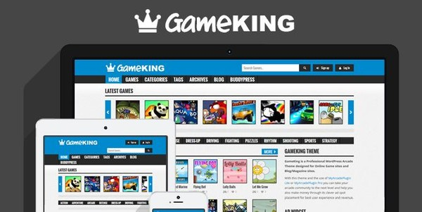 GameKing - WordPress Arcade Theme