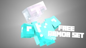 Free Minecraft Armor Set