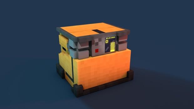 Minecraft Wall-e Rig