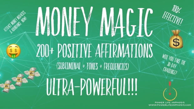 Money MAGIC - ATTRACT MONEY like MAGIC! SUBLIMINAL + 528Hz Miracle Solfiggeo Frequencies