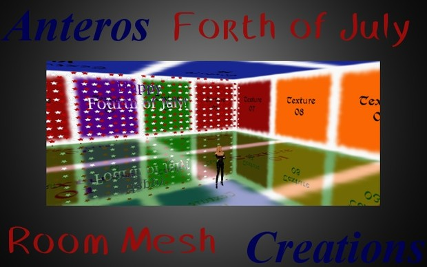Room Mesh -- Happy Forth of July