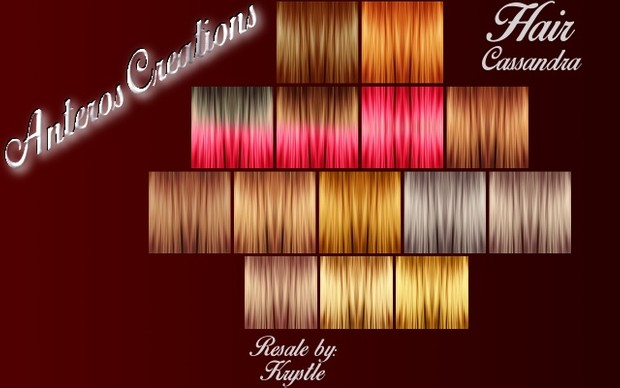 Hair Textures #1 -- Cassandra Collection