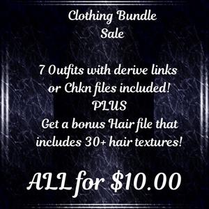 CLOTHING BUNDLE SALE!!! (Catalog upload only!)