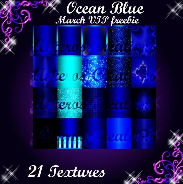 Ocean Blue Textures