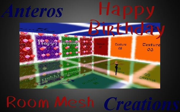 Room Mesh -- Happy Birthday