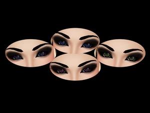 Eye Textures #1 -- Cracked Eyes