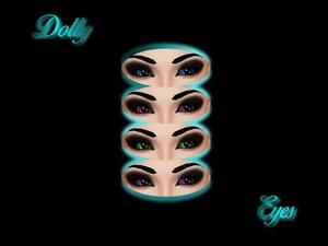 Eye Textures #3 -- Dolly