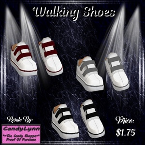 Clothing -- Walking Shoes (Catty upload only)