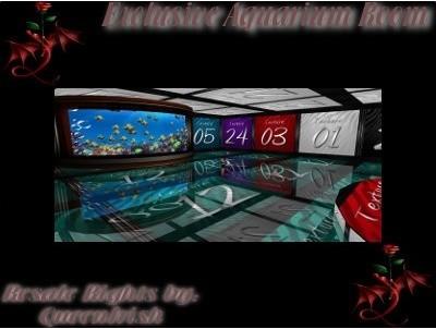 Exclusive Aquarium Room Mesh(catalog upload only)