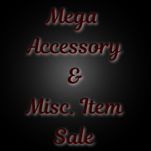 2017 - MEGA Accessory SALE - NO RESALE!