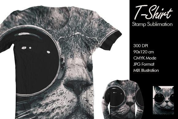 Cat Tshirt design