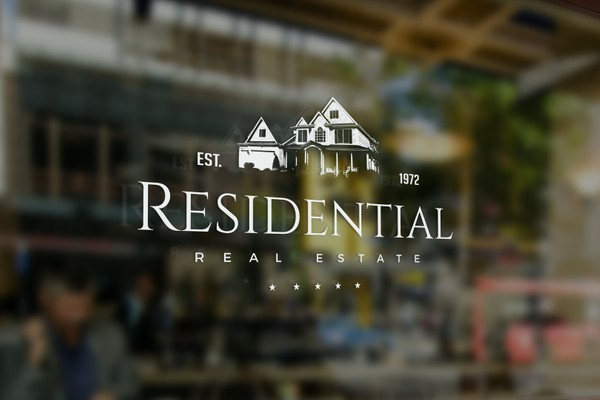 Residential Real Estate Logo Template