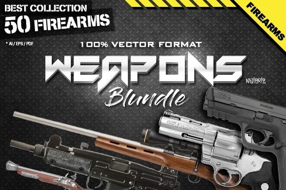 Firearms Vector Bundle