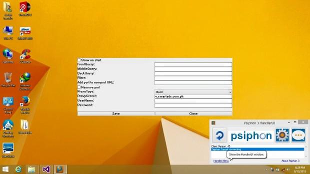 Psiphon Handler For Windows