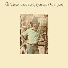 Crazy After All These Years - Paul Simon Backing Track / Karaoke