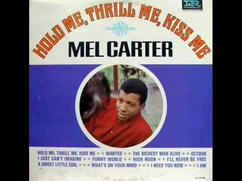 Hold me Thrill me Kiss me by Mel Carter - Backing Track / Karaoke