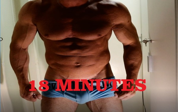 FLEXING MUSCLE CUSTOM VIDEO michael 2018