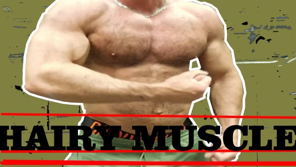 AMERICAN SOLDIER FLEXING MUSCLES 100% HAIRY BODYBUILDER 200% BEAST